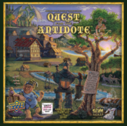 QUEST FOR THE ANTIDOTE (First Edition Promo Card Included) [Damaged]