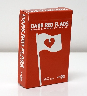 RED FLAGS: DARK RED FLAGS  [Damaged]