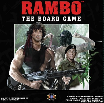 Rambo: The Board Game [DAMAGED]