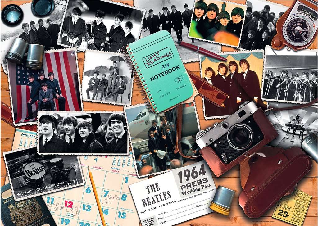 Ravensburger Puzzles (1000): Beatles- 1964: A Photographers View