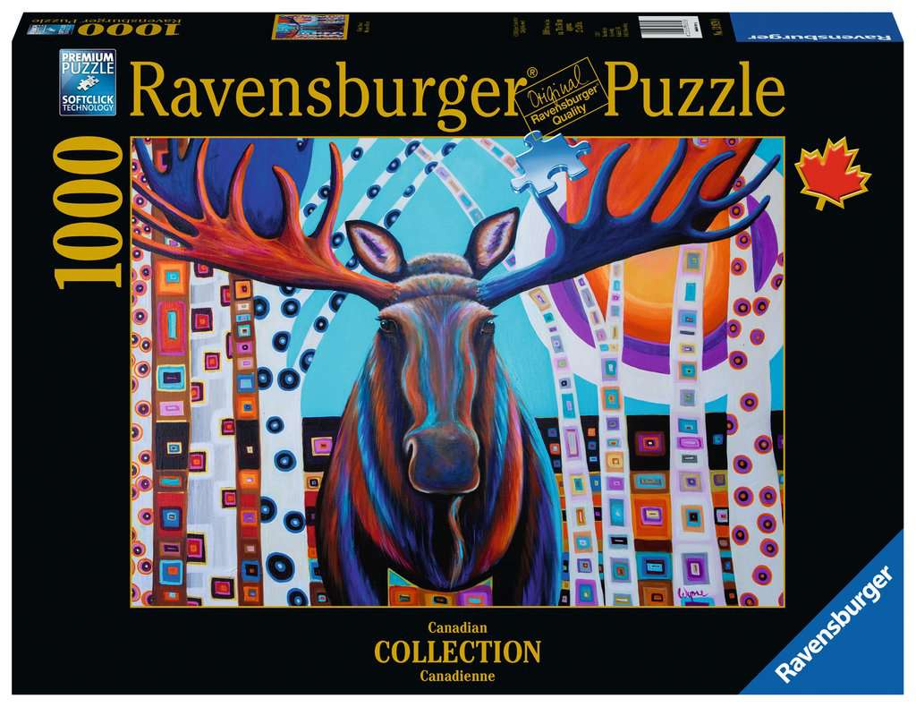 Ravensburger Puzzles (1000): Canadian Collection- Winter Moose