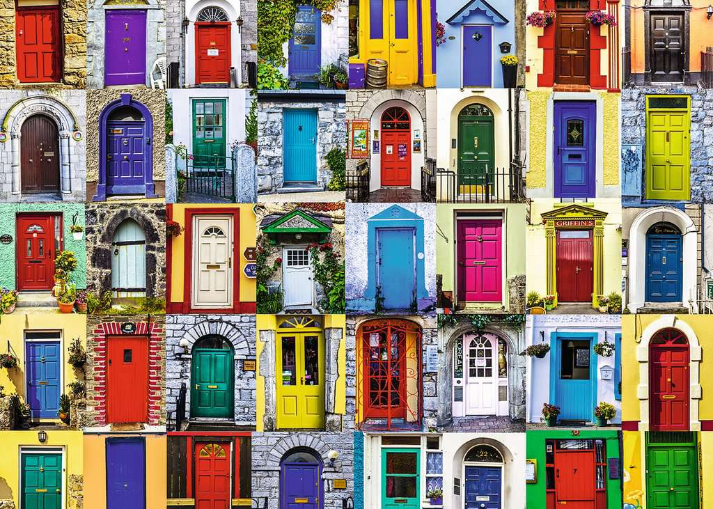Ravensburger Puzzles (1000): Doors of the World