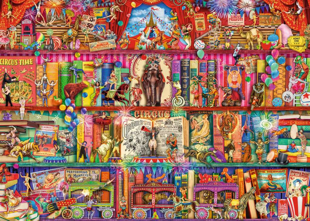 Ravensburger Puzzles (1000): The Greatest Show on Earth
