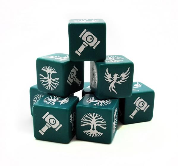 SAGA Age of Magic: Order Dice