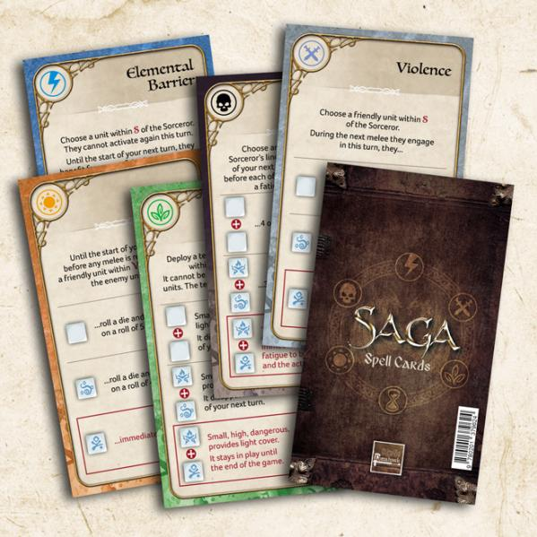 SAGA Age of Magic: Spell Cards