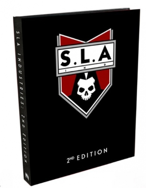 SLA Industries 2nd Edition: Core Rulebook (Special Limited Edition)