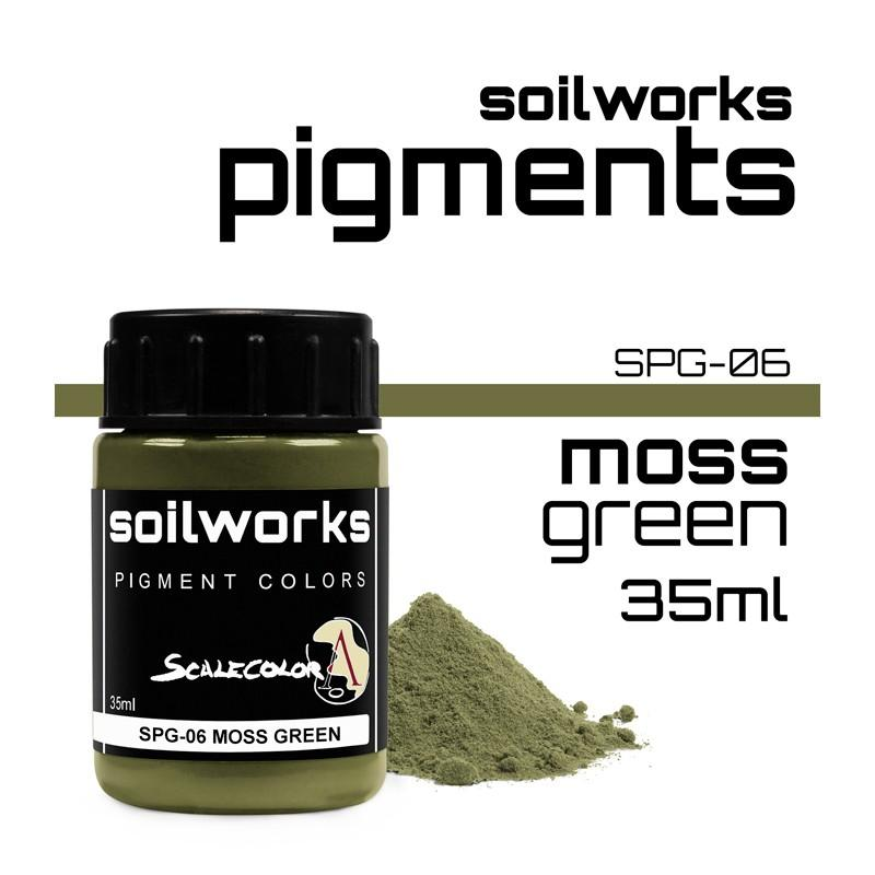 SOILWORKS: Pigments- MOSS GREEN (35ML)