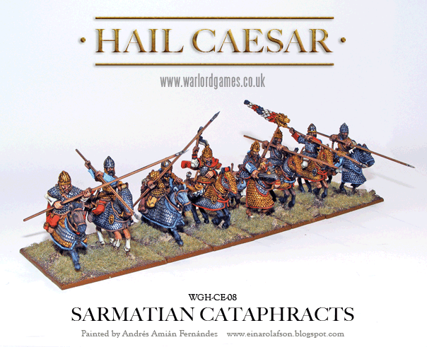 Hail Caesar: Dacian: Sarmatian Cataphracts Box Set
