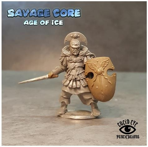 Savage Core- Age Of Ice: Atlantean Boss Krixos the Indomitable