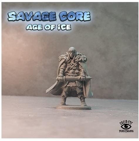 Savage Core- Age Of Ice: Bahl The Cro, Captain of The Atlantean Reavers