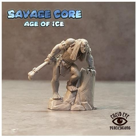 Savage Core- Age Of Ice: Corelock Boss Gog Maggolat the Maw