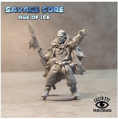 Savage Core- Age Of Ice: Cro Magnon Boss Menhir Fivetusks