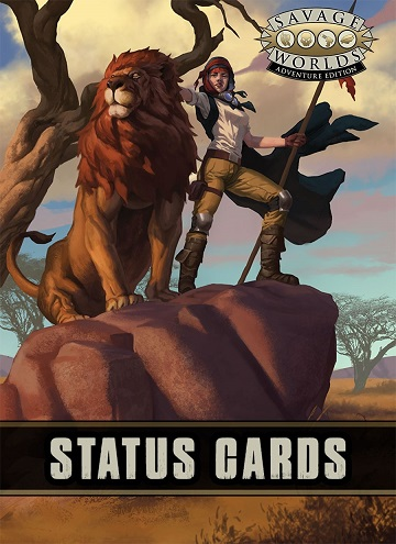 Savage Worlds: Adventure Edition - Status Cards