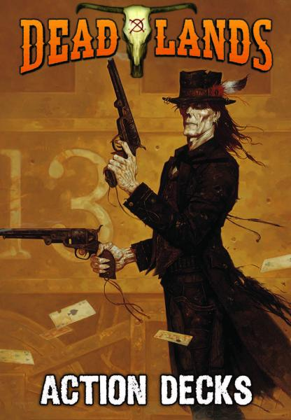 Savage Worlds: Deadlands Classic 20th Anniversary Edition Action Decks