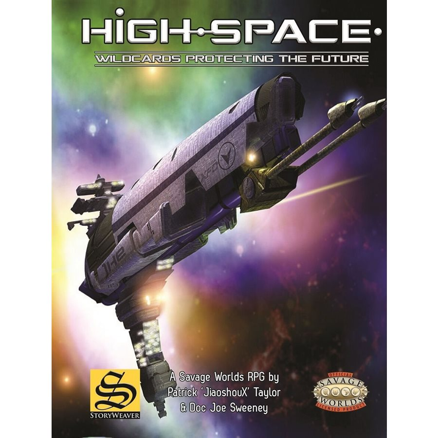High-Space: Wildcards Protecting The Future [Damaged]