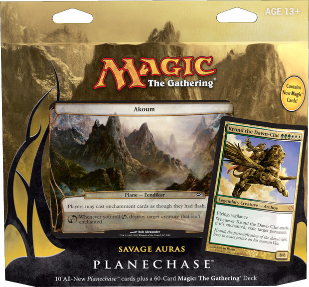 Magic: Planechase: Savage Auras