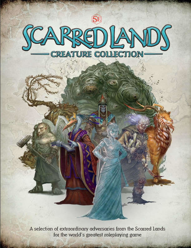 Scarred Lands: Creature Collection (D&D 5th Ed)