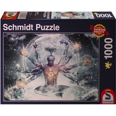 Schmidt Spiele Puzzles (1000): Dream In The Universe