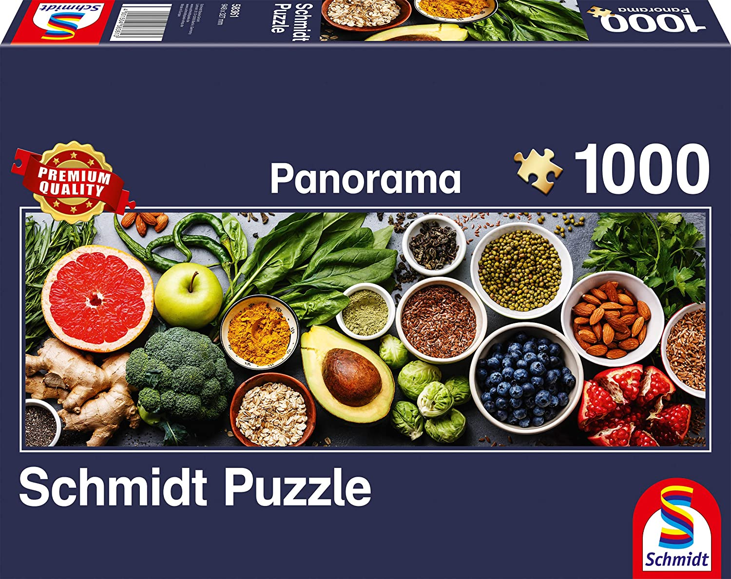 Schmidt Spiele Puzzles (1000): On the Kitchen Table
