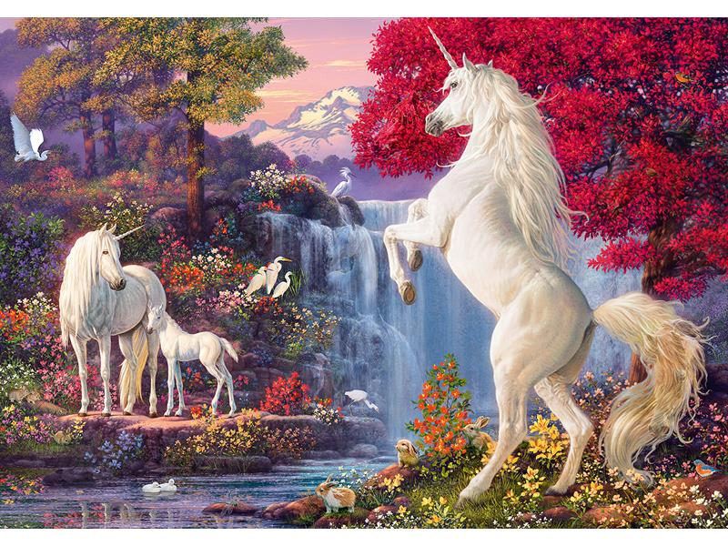 Schmidt Spiele Puzzles: Triumph of the Unicorns (Damaged Box)
