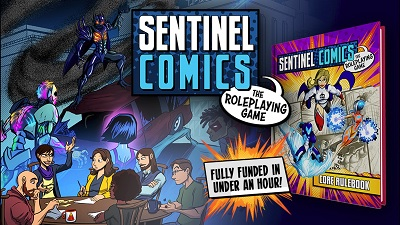 Sentinel Comics: The RPG Guise Book!