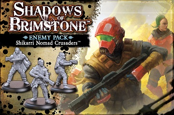 Shadows of Brimstone: Enemy Pack- Shikarri Nomad Crusaders