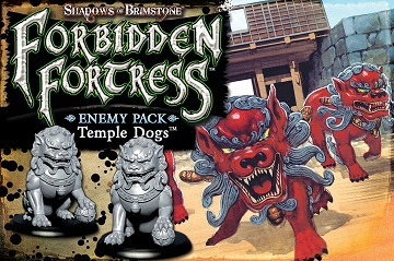 Shadows of Brimstone: Enemy Pack- Temple Dogs