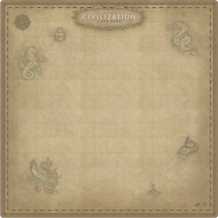 Sid Meier's Civilization: A New Dawn - Game Mat