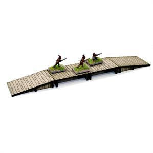 4Ground Miniatures: 15mm: Small Curduroy Bridge
