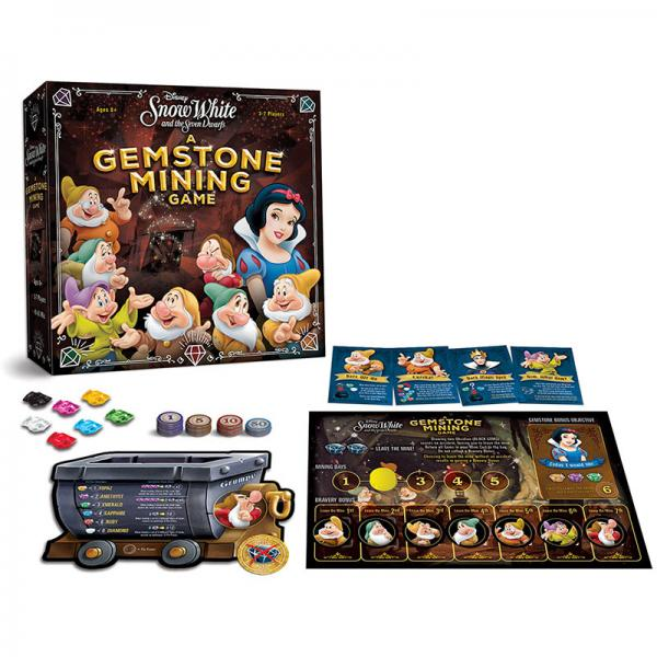 Snow White and the Seven Dwarfs Gemstone Mining Game