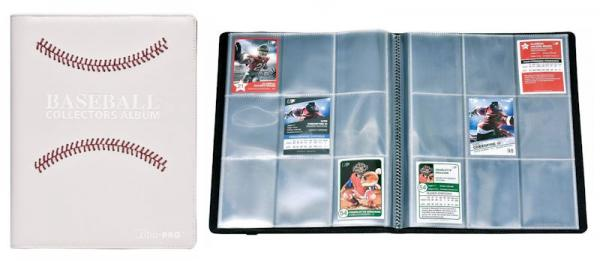 Sports Premium PRO-Binder: White Stitched Baseball