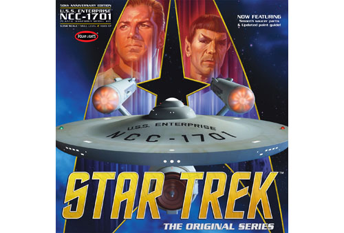 Polar Lights 1/350: Star Trek TOS Enterprise NCC-1701 50th Anniversary Edition