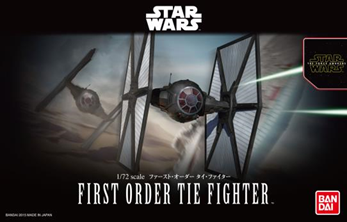 Star Wars Bandai Kit: 1/72 First Order TIE Fighter