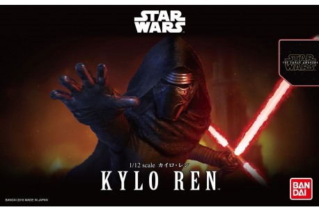 Star Wars Bandai Model Kit: 1/12 Kylo Ren