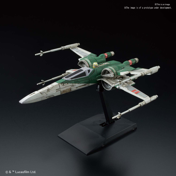 Star Wars Bandai Vehicle Model Kit: X-Wing Fighter (Rise of Skywalker)