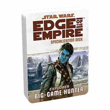 Star Wars Edge of the Empire: Specialization Deck - Big-game Hunter