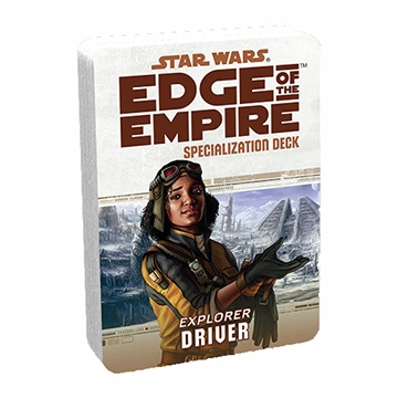 Star Wars Edge of the Empire: Specialization Deck - Driver