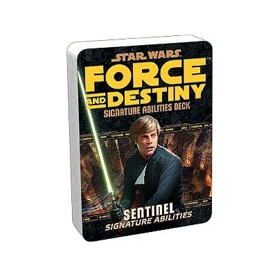 Star Wars Force and Destiny: Sentinel Signature Abilities