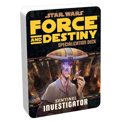 Star Wars Force and Destiny: Specialization Deck- Sentinel Investigator