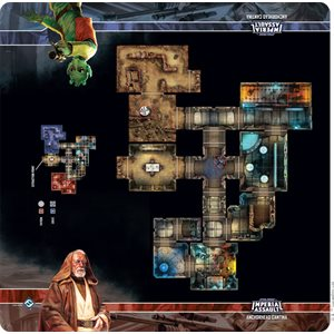 Star Wars Imperial Assault: Skirmish Map- Anchorhead Cantina