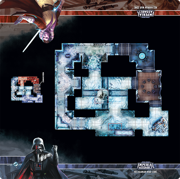 Star Wars Imperial Assault: Skirmish Map- Nelvaanian Warzone