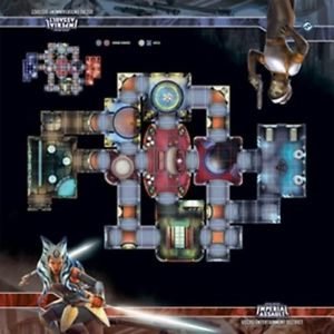 Star Wars Imperial Assault: Skirmish Map- Uscru Entertainment District