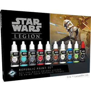 Star Wars Legion: Republic Paint Set