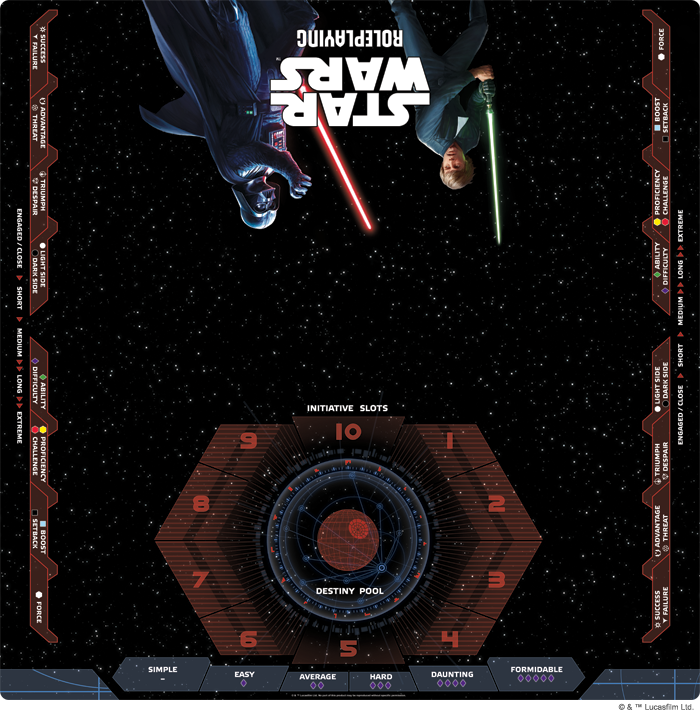 Star Wars Roleplaying Game Playmat