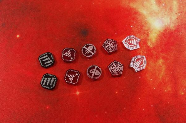 Star Wars X-Wing: Space Fighter Special Tokens (10)