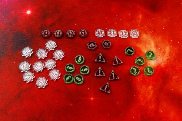 Star Wars X-Wing: Space Fighter Starter Tokens & Markers (35)