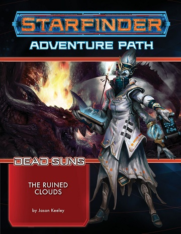 Starfinder: Adventure Paths- The Ruined Clouds (Dead Suns 4/6) [Damaged]