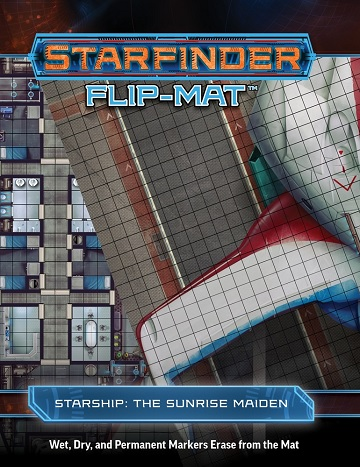 Starfinder: Flip-Mat - STARSHIP THE SUNRISE MAIDEN