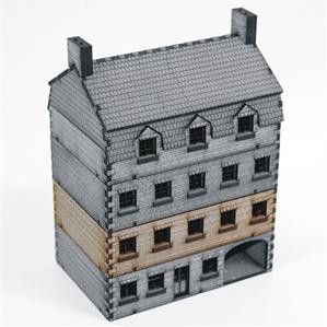 4Ground Miniatures: 15mm: Stone Hotel Add-on