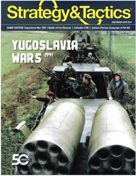 Strategy & Tactics Magazine #303: War Returns to Europe - Yugoslavia 1991